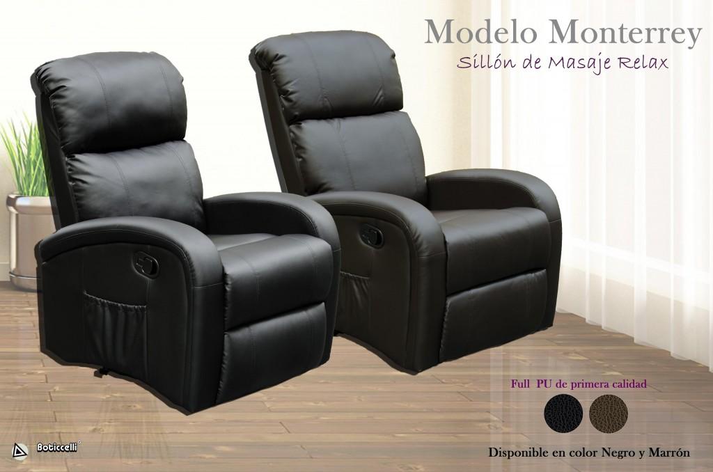 Sill n de masaje monterrey expoimport for Sofa cama monterrey