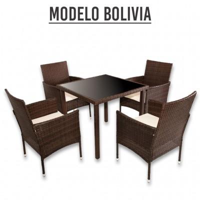 CONJUNTO JARDIN 5 piezas Modelo Bolivia