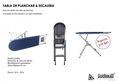 Mesa de Planchar convertible en Escalera
