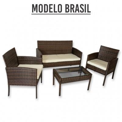 Mueble de jardin modelo brasil