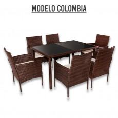 CONJUNTO JARDIN 7 PIEZAS MODELO COLOMBIA