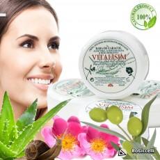 Crema Baba de Caracol, Aceite de Oliva y Rosa Mosqueta