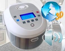 Robot de Cocina 3D con Voz en Portugues y Español