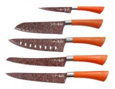 Juego 5 cuchillos santoku + pelador